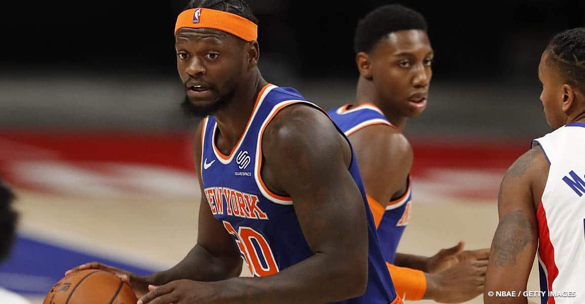 NBA Julius Randle New York Knicks