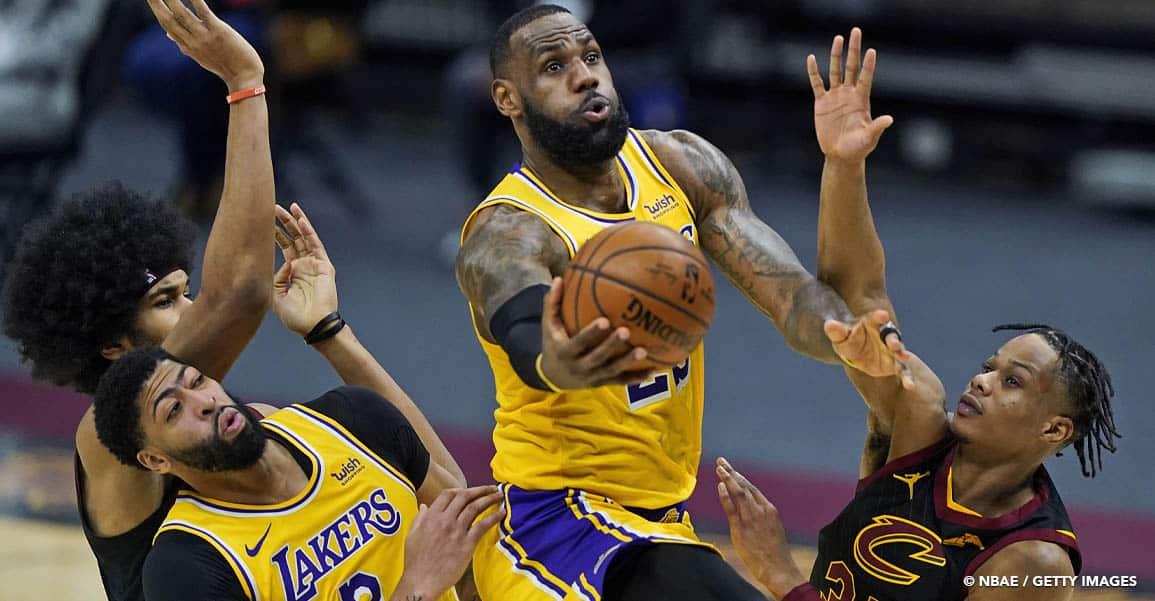 NBA LEBRON JAMES Los Angeles Lakers Drake