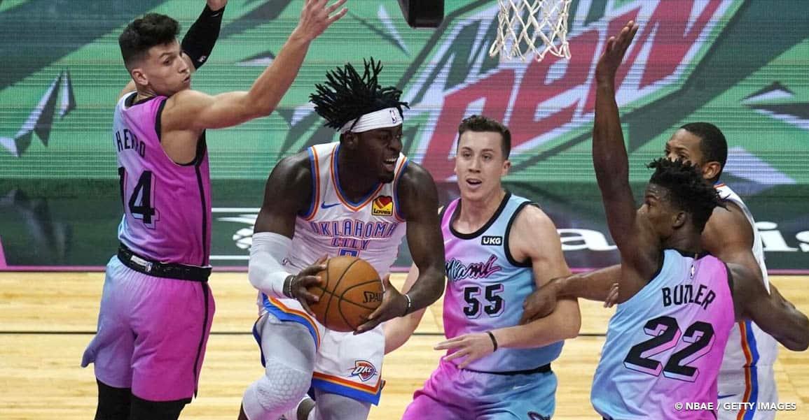 Pourquoi le Thunder a intérêt à ce que le Heat continue de galérer