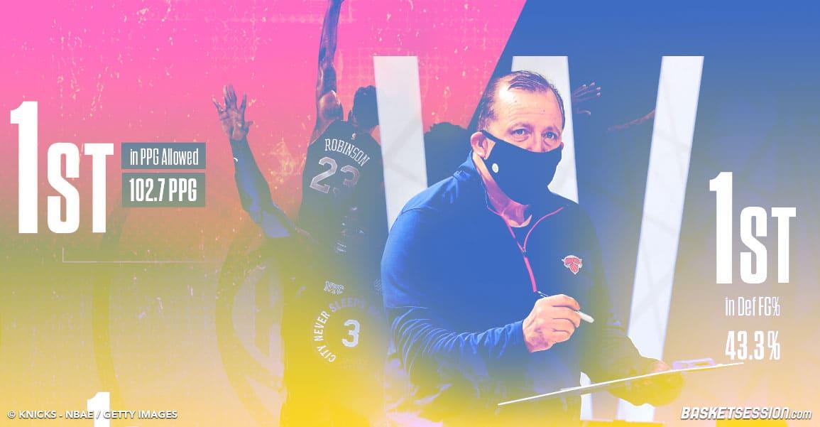 Les Knicks sous Thibodeau, c'est méchamment fort en défense