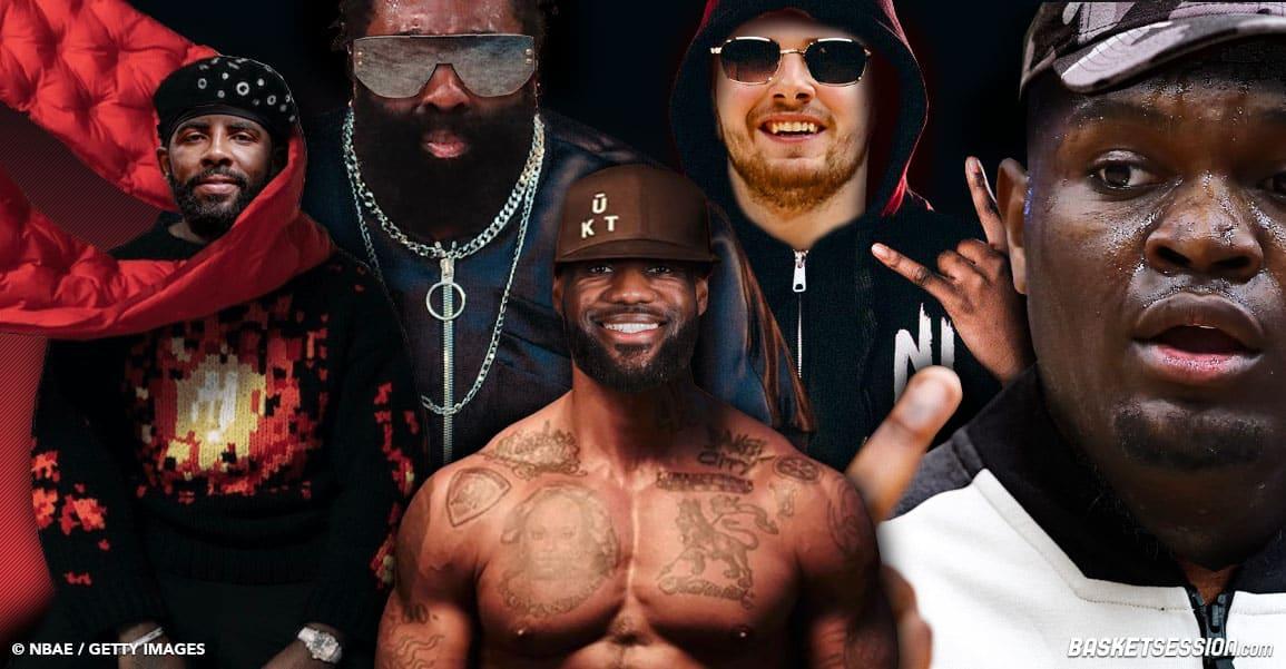 Et si les joueurs NBA étaient des rappeurs français ?