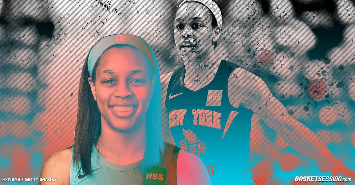 Asia Durr : le témoignage glaçant de la joueuse de New York sur le Covid-19