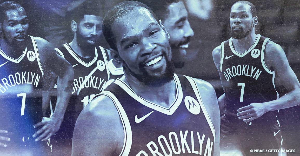 Kevin Durant, un patron pour deux aux Nets