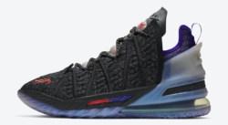 La Nike LeBron 18 x Kylian MBappé sort le 9 janvier
