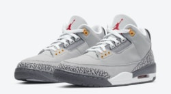 Release of the week : Air Jordan 3 Cool Grey