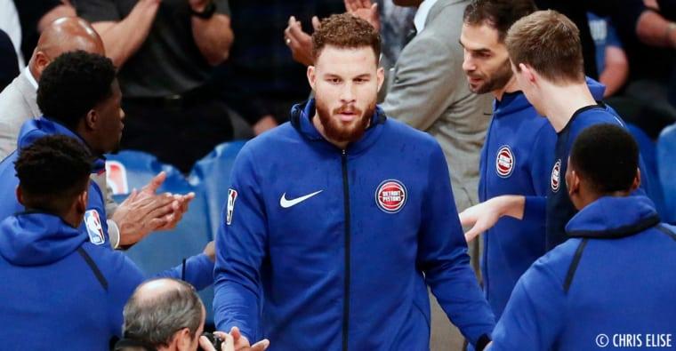 Les Pistons et Blake Griffin proches d'une solution pour un départ ?