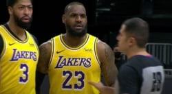 LeBron James s'embrouille avec des fans… qui se font ensuite éjecter !