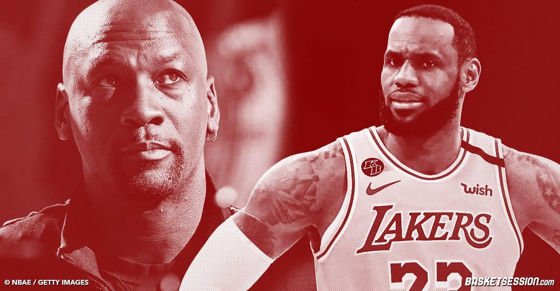 LeBron est le GOAT, pas Michael Jordan, assure un ancien rival de MJ