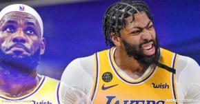Anthony Davis est rincé physiquement, les Lakers vont galérer pour regagner le titre