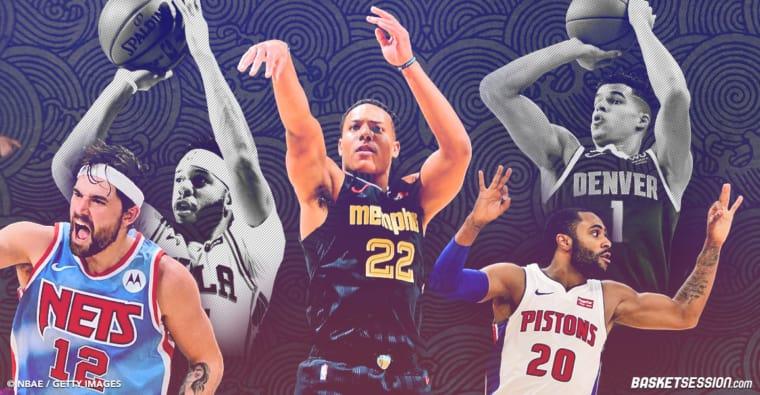 Les 10 meilleurs snipers de la NBA cette saison