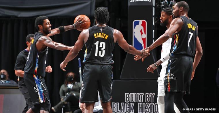 CQFR : Le Big Three des Nets tape les Clippers, VanVleet stratosphérique