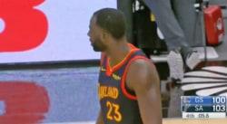 FAIL : La grosse boulette de Draymond Green qui a coûté le match aux Warriors