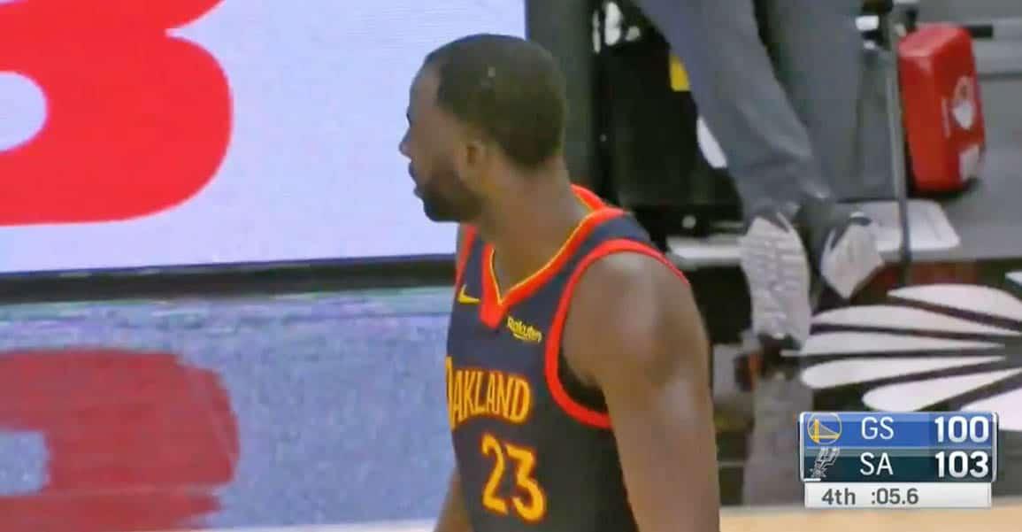 FAIL FAIL : La grosse boulette de Draymond Green qui a coûté le match aux Warriors - BasketSession