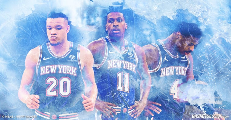 Knicks : Trois top-10 picks déjà écartés de la rotation…