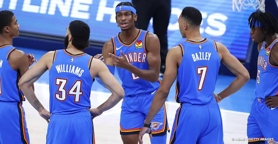 NBA OKLAHOMA CITY THUNDER 2021
