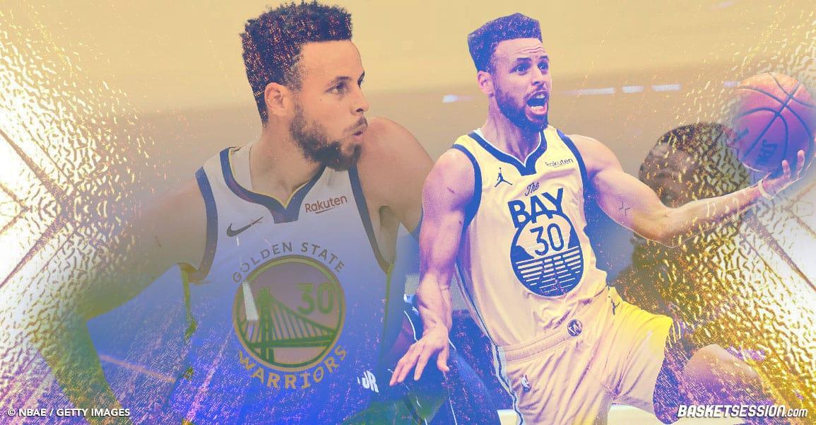 Stephen Curry est sur une autre planète, ne l'oubliez pas pour le MVP !