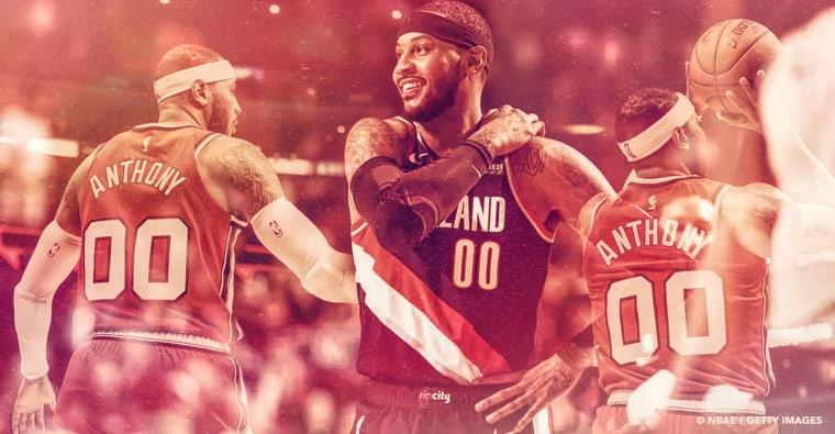 Carmelo Anthony est dans le top 10 all-time, jusqu'où peut-il grimper ?