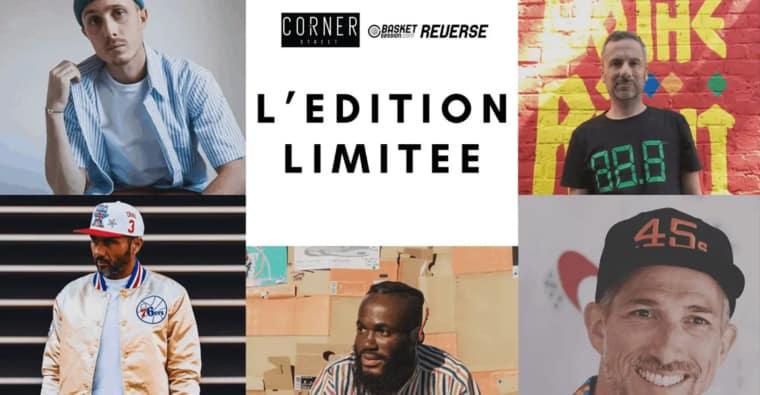 REVERSE présente «L'Edition Limitée», émission 100% sneaker culture