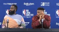 Harden et Westbrook ont déjà marqué l'histoire des Nets et des Wizards