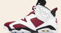 La Air Jordan 6 Carmine est de retour en mode OG
