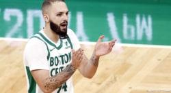 Evan Fournier, ça commence à sentir mauvais avec les Celtics…
