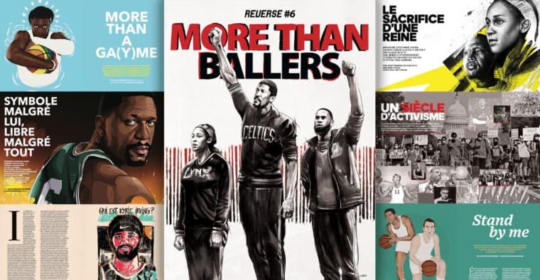 More Than Ballers : un nouveau Mook REVERSE lourd de sens