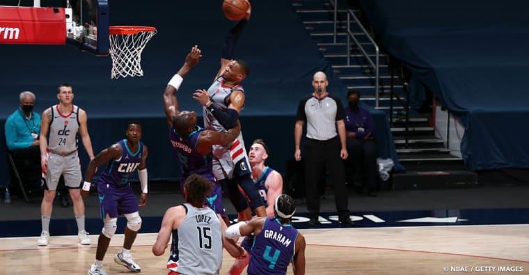 CQFR : Westbrook cartonne et postérise en vain, la faute de goût des Clippers