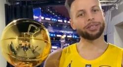 La belle dédicace de Stephen Curry à Klay Thompson après son sacre à trois-points