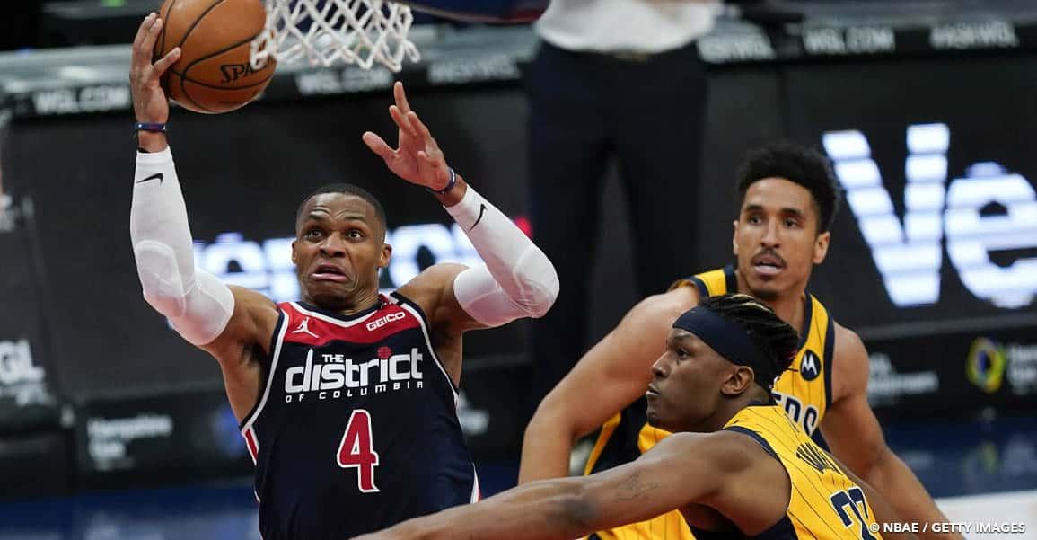 CQFR : Westbrook et les Wizards écrabouillent Indiana, place à Philly