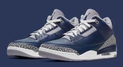 La Air Jordan 3 se met aux couleurs de Georgetown