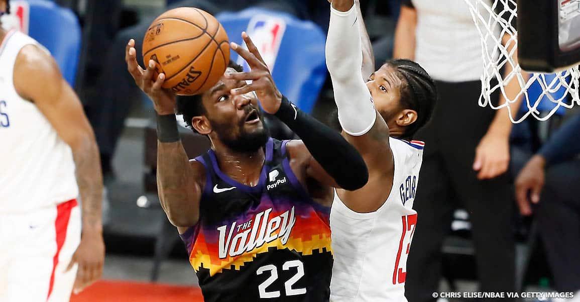 Quoi qu'il arrive, Deandre Ayton est la bonne surprise des Suns