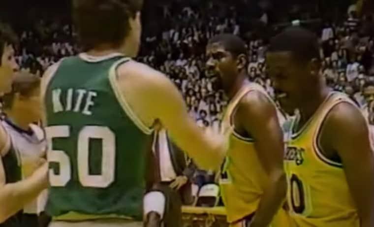 Les Celtics et les Lakers se mettaient sur la gueule, ils aimaient vraiment ça