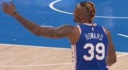 Dwight Howard en point-guard, c'est vraiment pas ça