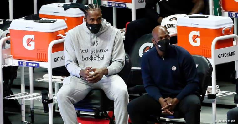 Kawhi Leonard reste encore à l'infirmerie des Clippers