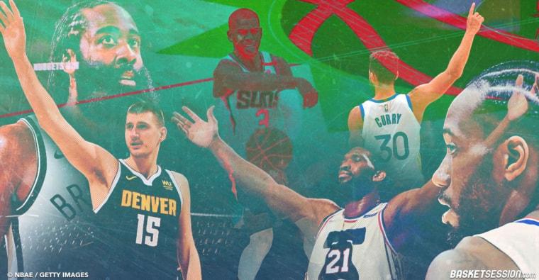 MVP Race-Vol.4 : Curry, Jokic, Embiid… qui sortira vainqueur du sprint final ?