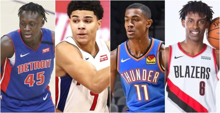 Quatre jeunes Français dans un même match NBA, c'était un événement !