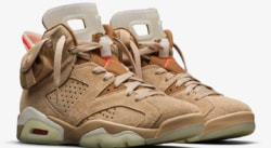 Release Of The Week : Travis Scott x Air Jordan 6 British Khaki
