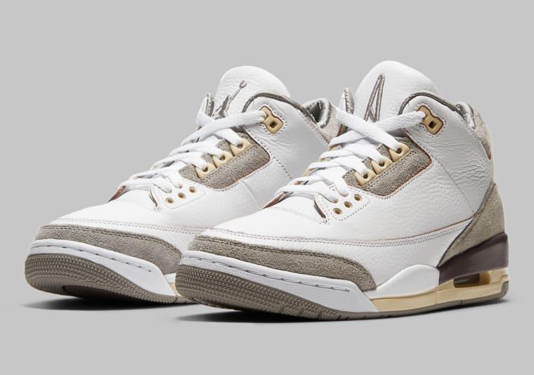 La Air Jordan 3 se la joue haute couture avec A Ma Maniere