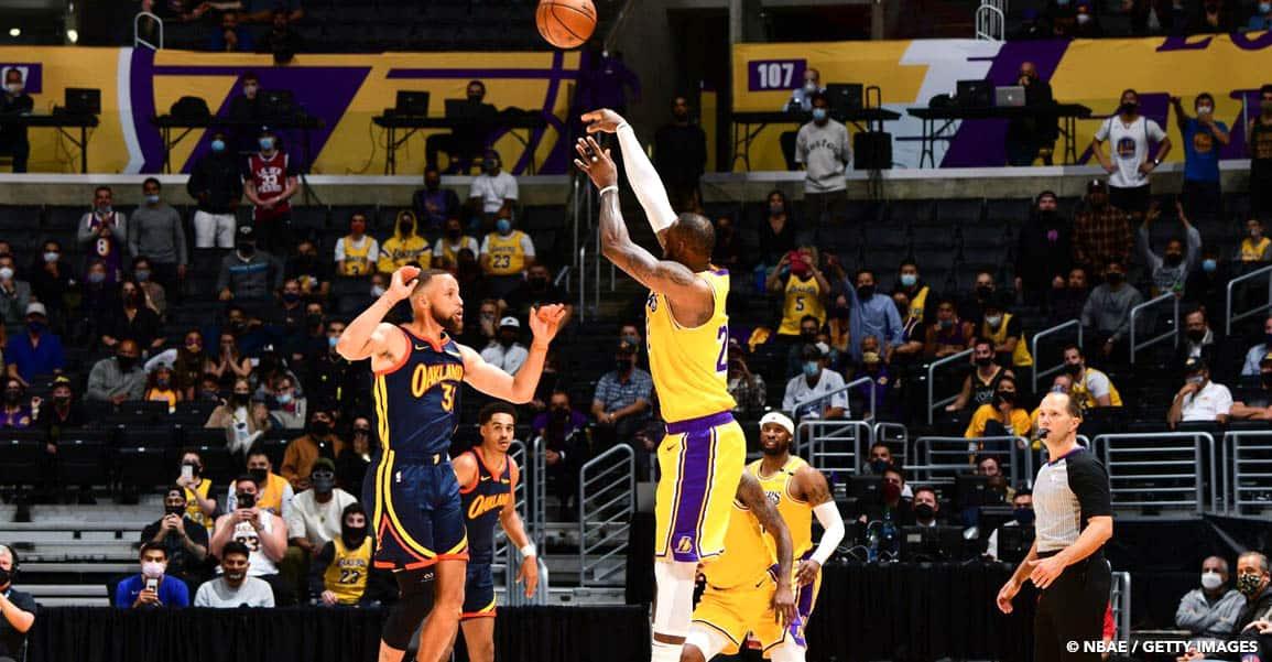 CQFR : LeBron sauve les Lakers sur un miracle, San Antonio prend la porte