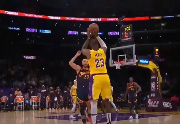 9 mètres, trois cercles et… de la chance ? Le panier miraculeux de LeBron James pour la gagne