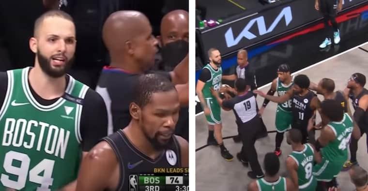 Un début d'embrouille et Evan Fournier se lâche sur Kevin Durant !