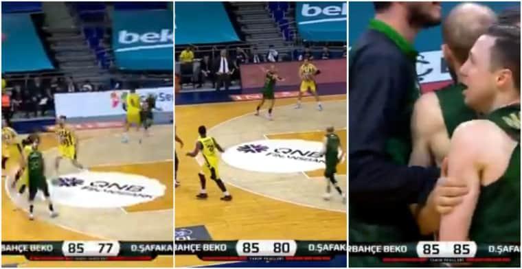 Le basket, c'est fou : une fin de match complètement tarée en Turquie