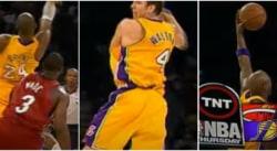 Vous avez kiffé l'action des Nets ? Vous n'êtes pas prêts pour celle des Lakers de Kobe, Odom et… Luke Walton
