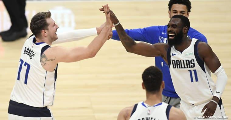 CQFR : Doncic et Dallas flinguent les Clippers, Philly, Atlanta et Utah qualifiés