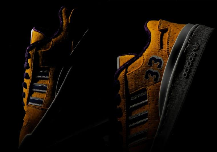 adidas et Kareem Abdul Jabbar collaborent sur une Forum