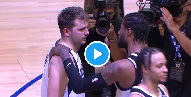 Accolades, louanges : La très belle marque de respect des Clippers envers Luka Doncic