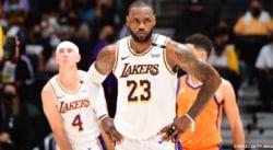 Les Lakers dos au mur, le discours cash de LeBron James