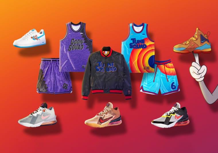Nike et Converse présentent la collection Space Jam A New Legacy