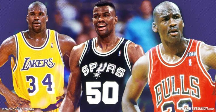 Les 10 plus grands joueurs NBA des années 90