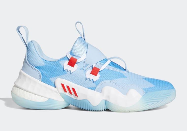 adidas dévoile sa Trae Young 1 dans un coloris «Ice Trae»